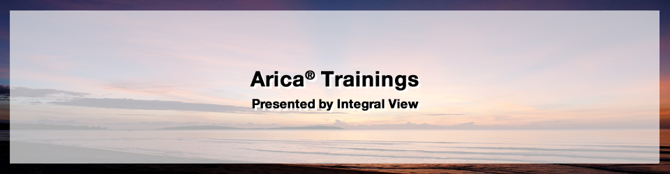 Arica Trainings by Oscar Ichazo